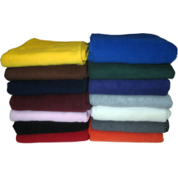 Whipstitch Fleece Blankets, B38