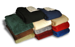 Luxury First Class Airline Blankets, B88