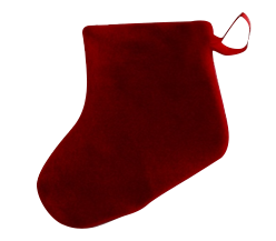 Promo Holiday Fleece Stockings CLEARANCE, FS07S
