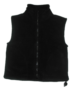 Premium Recycle Youth Micro Fleece Vests, Y6600
