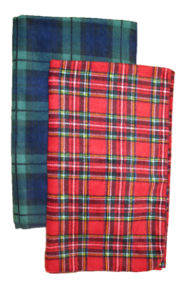 Luxury PLAID Fleece Blankets, B94