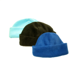 Deluxe Youth Foldover Micro Fleece Beanies/Toques, YT08