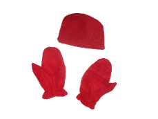 Deluxe Youth Micro Fleece Beanie & Mitts Sets, YT07YMS03