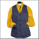 Premium Unisex Long Uniform Vests, 3200