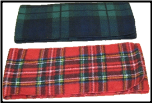 Plaid Fleece Scarves