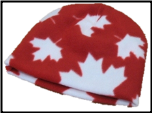 Printed Fleece Hats