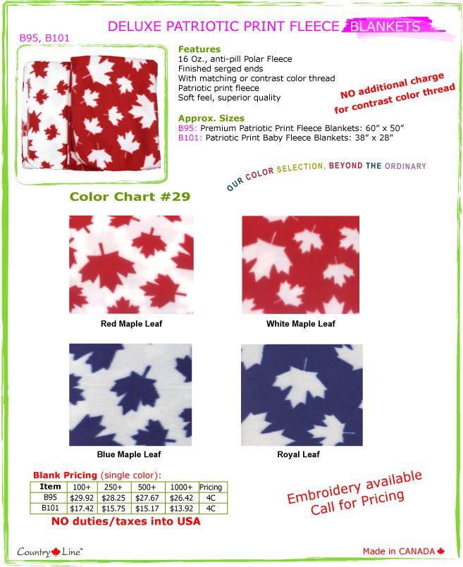 Premium Patriotic Fleece Baby Blankets