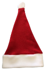 Deluxe Holiday Santa Hat CLEARANCE, HS07