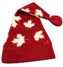 Luxury Patriotic Print Holiday Santa Hats, HS05