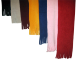 Slim Tassel Fleece Scarf, S45