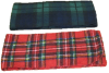 Premium Youth Plaid Fleece Scarf, YS75
