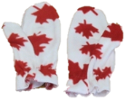 Deluxe Patriotic Fleece Mitts, MS10