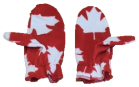 Premium Youth Patriotic Fleece Mitts, YMS09