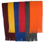Youth Tassel Fleece Scarf CLEARANCE, YS85