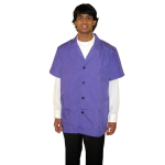 Unisex Short Sleeve Labcoats